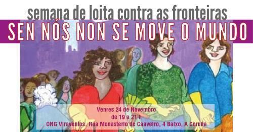 ACTIVIDADE: V SEMANA DE LOITA CONTRA AS FRONTEIRAS