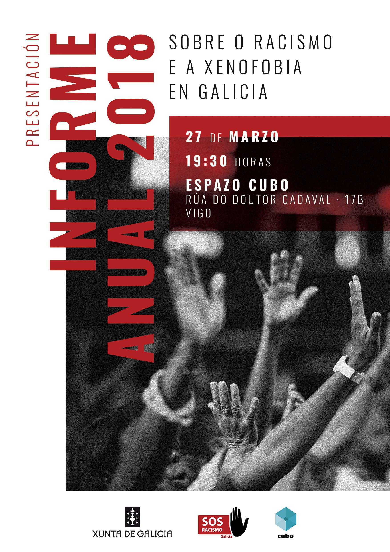 Cartel Redes Sociais · Presentación Informe Anual 2018